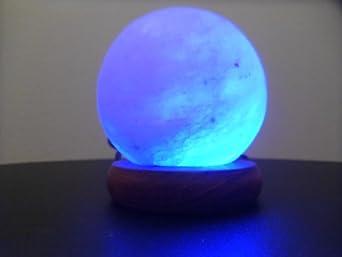 USB Multi Colour Changing Crystal Rock Salt Lamp in Ball Shape: Amazon.co.uk: Lighting