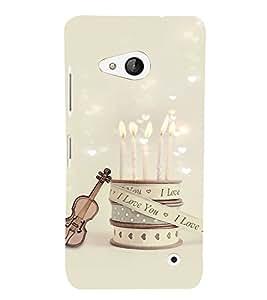 EPICCASE love date Mobile Back Case Cover For Microsoft Lumia 550 (Designer Case)