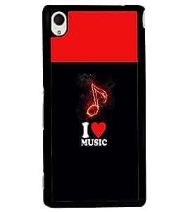 PRINTVISA Abstract Music Case Cover for Sony Xperia M4 Aqua::Sony Xperia M4 Aqua Dual