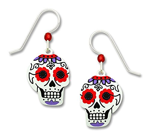 Day of the Dead Sugar Skull Ear Wires