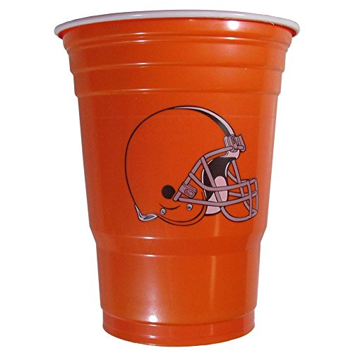 Siskiyou Sports Fgdc025 Cleveland Browns Plastic Game Day Cups FGDC025