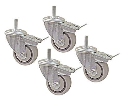 "Kreg PRS3090 3"" Dual Locking Caster-Set, 4 Piece from Kreg"