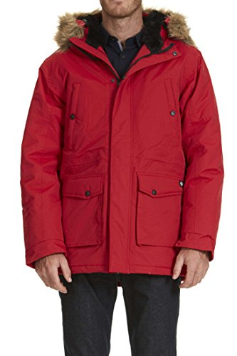 Parka A Capuche Curtis Dickies Rouge L