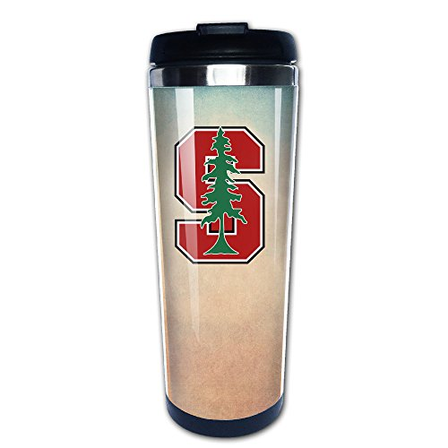 D2 Custom Stanford Stainless Steel Travel Mug For Indoor & Outdoor Use (Larry Hoover Shirts compare prices)