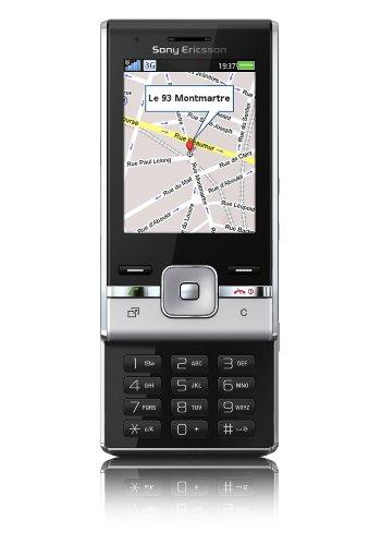 Sony Ericsson T715 Handy (TFT-Farbdisplay, 3.2 MP Kamera, integrierter MP3 Player) galaxy silver