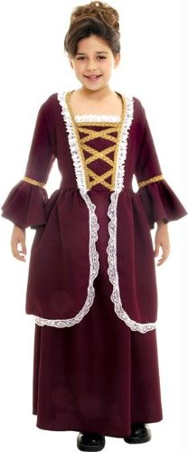 Costumes For All Occasions Ur26230Lg Colonial Girl Large