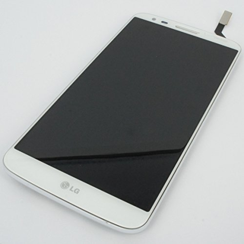Generic Full Panel Lcd Display Screen Touch Digitizer Glass Compatible For Lg Optimus G2 Ls980 Vs980 White W/ Frame Deck