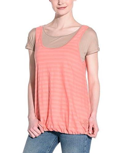 Love Moschino T-Shirt Manica Corta [Beige/Rosa]