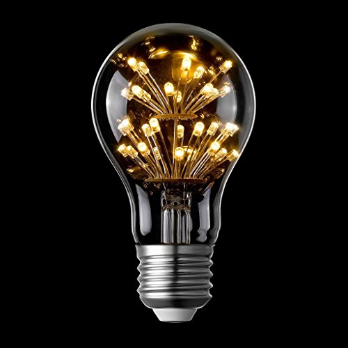 LIGHTSTORY Starry LED Bulb, E26 Base 2200K A19 Edison Decorative LED Light Bulbs, Non-Dimmable 0