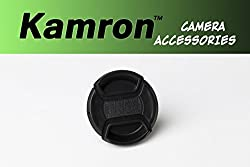 Kamron Lens Cap 52mm Black