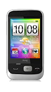 HTC Smart White Mobile phone on O2 pay as you go (Including £10 Airtime)