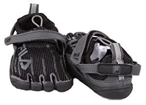 Kid's Fila SKELETOES 2.0 Slide Sneakers BLACK 7 M