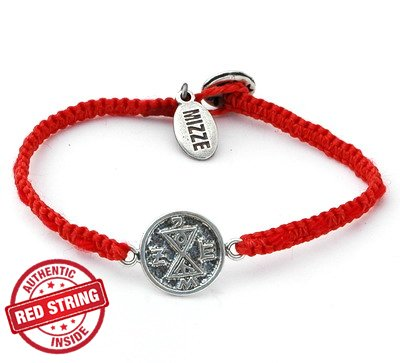 Matching Solomon Seal & Authentic Red String Inside Charm Bracelet