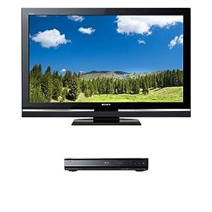 Sony Bravia V-Series KDL-40V5100 40-Inch 1080p LCD Flat Panel HDTV & Sony BDP-N460 Blu-ray Disc Player Bundle