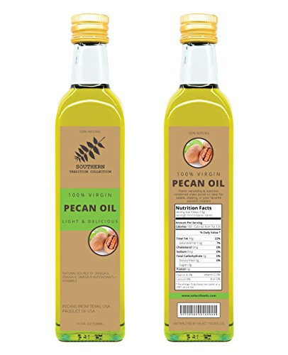 500 Ml 100% Virgin Pecan Oil (100 Ml)