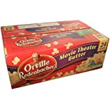 Orville Redenbacher Gourmet Popping Corn Movie Theater Butter Popcorn 24-93.3g Bag Box, 4.9 lbs