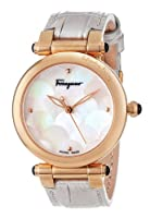 Salvatore Ferragamo Women's FI2030013 Idillio Rose Gold Ion-Plated Coated Stainless Steel Mother-Of-Pearl Mermaid Watch by Salvatore Ferragamo