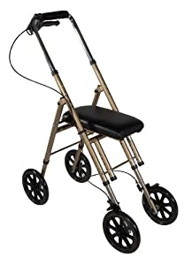 Drive Medical Universal Knee Walker, Gold, Adult
