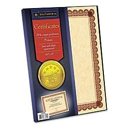 Preprinted Certificates,24lb,11\
