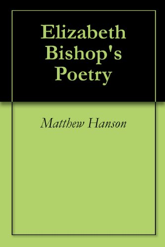 analysis of elizabeth bishops the fish english literature essay She declares the publication a betrayal of elizabeth bishop, and believes the poems [transgress] her commitment to exactness this new debate about bishop's uncollected work reminds readers of the critical debate surrounding bishop that has persisted for many years.