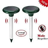 41cLKlgjO4L. SL160  Mole Repeller Ultrasonic Solar Powered Repel Voles Gopher Mice Rats Rodent for Lawn Garden Yards (Pack of 2) Reviews