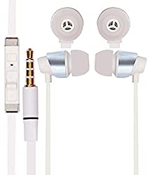 JIYANSHI stylish earphone white Compatible with Onida Smart-i010