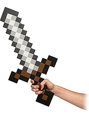 2 X ThinkGeek Minecraft Foam Sword by ThinkGeek
