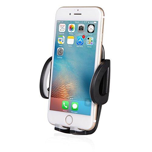 SENDIS Ventilation Support Voiture Auto Universel à Angle Réglable pour iPhone 6s Plus 6s 6 5s 5c, Samsung Galaxy, Note,Nexus, LG, Sony, Android Smartphones, Appareils GPS