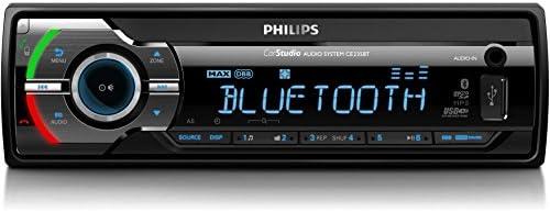 Philips CE235BT Autoradio numérique Bluetooth Noir