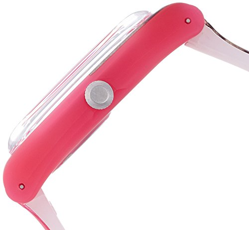 Swatch Women's SUOP703 Pink/Brown Silicone Watch 2