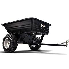 Agri-Fab 45-0175 Explorer 10-Cubic-Foot ATV Poly Dump Cart by Agri-Fab
