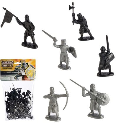 Toysmith 36-Piece Guardian Knights Action Figure Set
