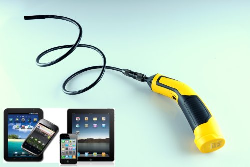 Vividia Wifi Wireless 9Mm Waterproof Flexible Inspection Camera Borescope Endoscope For Iphone/Ipad/Android