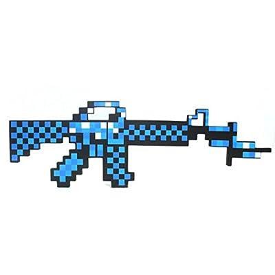 Minecraft EVA foam diamond sword axe Foam Sword pick machine gun from Weitengs