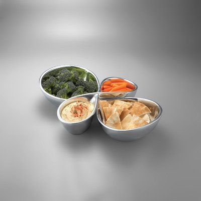 Nambe 2-Piece Infinity Serving Trays (Nambe Cheese Tray compare prices)
