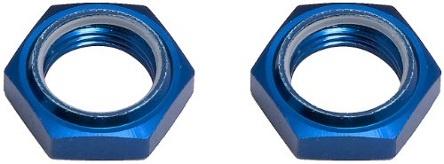 Team Associated 89094 Factory Team Nyloc Hex Wheel Nuts (2) - 1