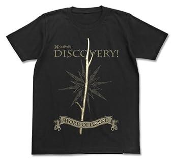 のんのんびより りぴーと れんげの伝説の剣Tシャツ ブラック Mサイズ