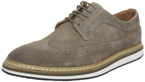 SELECTED HOMME Sel George Suede Lace-Ups Mens Gray Grau (Grey) Size: 9 (43 EU)
