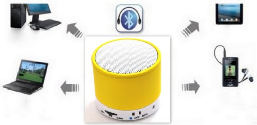 Bluetooth Wireless Portable Mini
