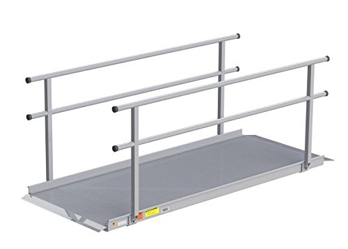 EZ-ACCESS Gateway 6 Feet Ramp with handrails, 71 Pounds