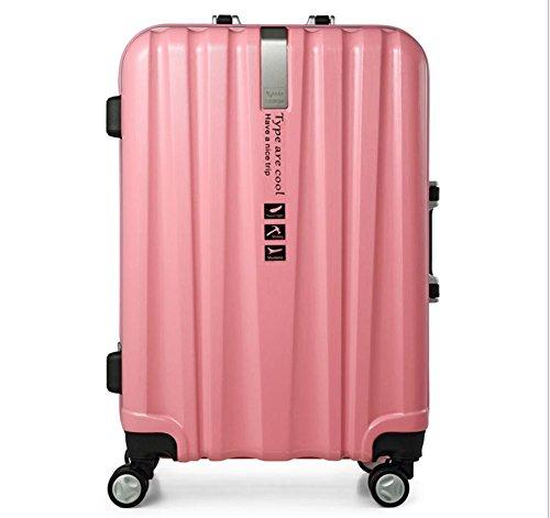 Alluminio lega telaio bagagli carrello bagagli valigia , 6 , 24 inch