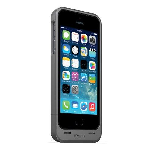 日本正規代理店品mophie juice pack helium for iPhone 5s/5 ダークメタリック MOP-PH-000027