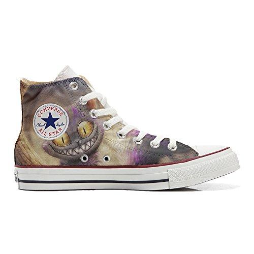 CONVERSE personalizzate All Star Sneaker unisex (Scarpa artigianale) Occhi di gatto - TG40