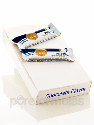 PaleoBar Chocolate Flavor Coated Bar (18 bars) by Designs for Health