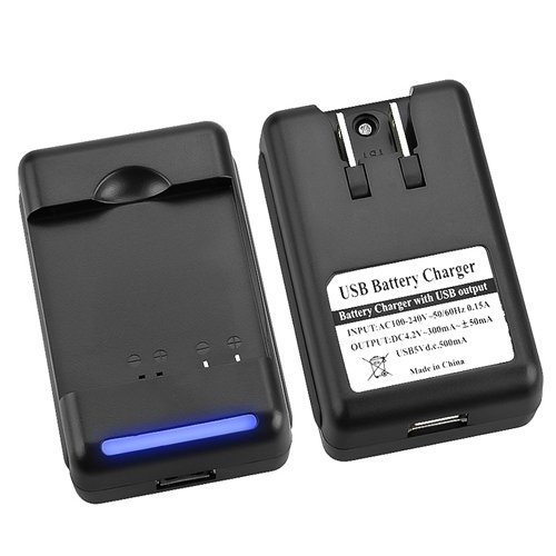 2x New Battery+USB Charger For HTC Inspire 4G Desire HD