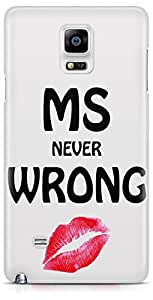 Samsung Galaxy Note 4 Back Cover by Vcrome,Premium Quality Designer Printed Lightweight Slim Fit Matte Finish Hard Case Back Cover for Samsung Galaxy Note 4