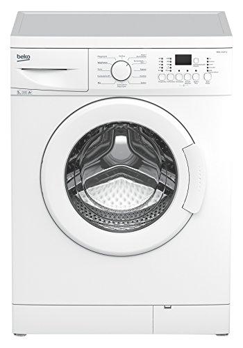 Beko-WML-51231-E-Waschmaschine-Frontlader-A-1200-UpM-0688-kWh-5-kg-Wei-33-Liter-Display-mit-Startzeitvorwahl-und-Restzeitanzeige-Groes-Programmauswahl