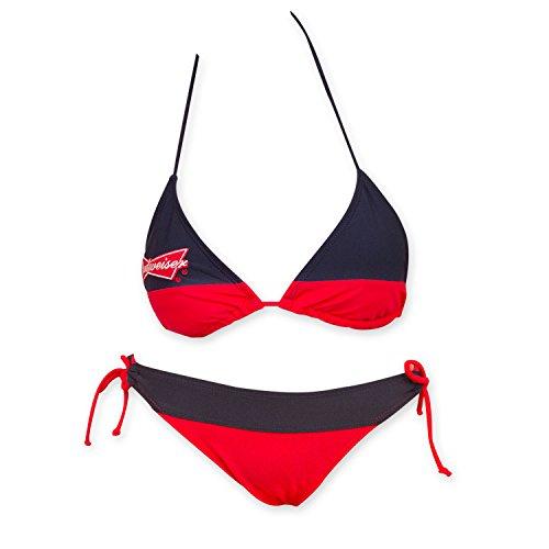 Budweiser Women's And Blue Bikini Small Red