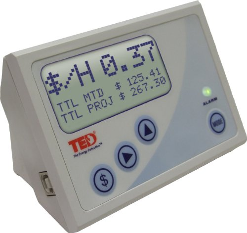 TED The Energy Detective Electricity Monitor TED1001 with Footprints Software