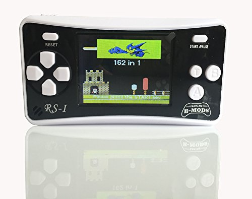 E-MODS-GAMING-RS-1-Retro-25-LCD-Handheld-Portable-Arcade-Video-Gaming-System-162-Retro-Games-Entertainment-BLACK